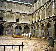 Stallburg (stable building) of the Spanish Riding School